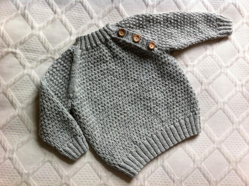 strikkeopskrift trøje dame