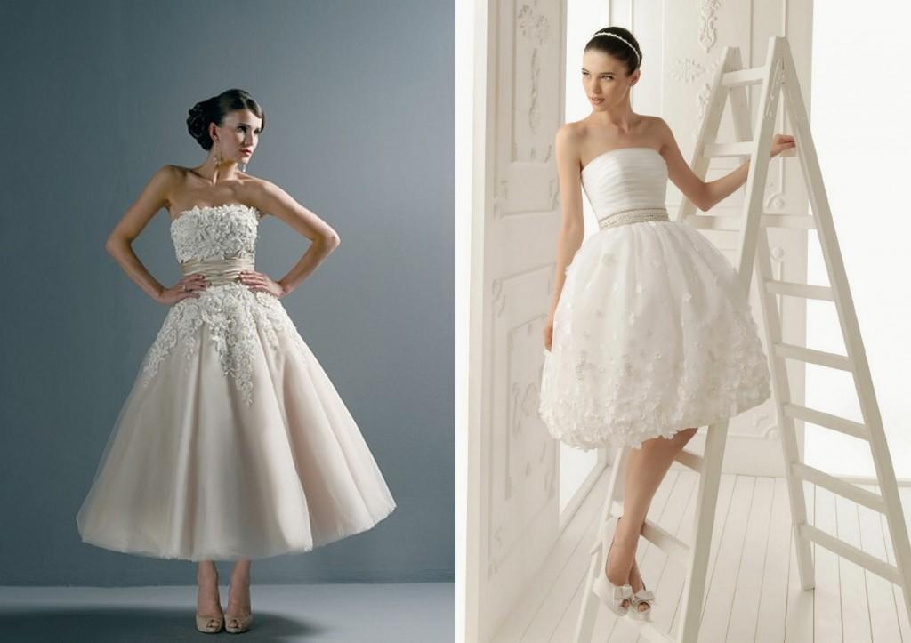 korte brudekjoler 2