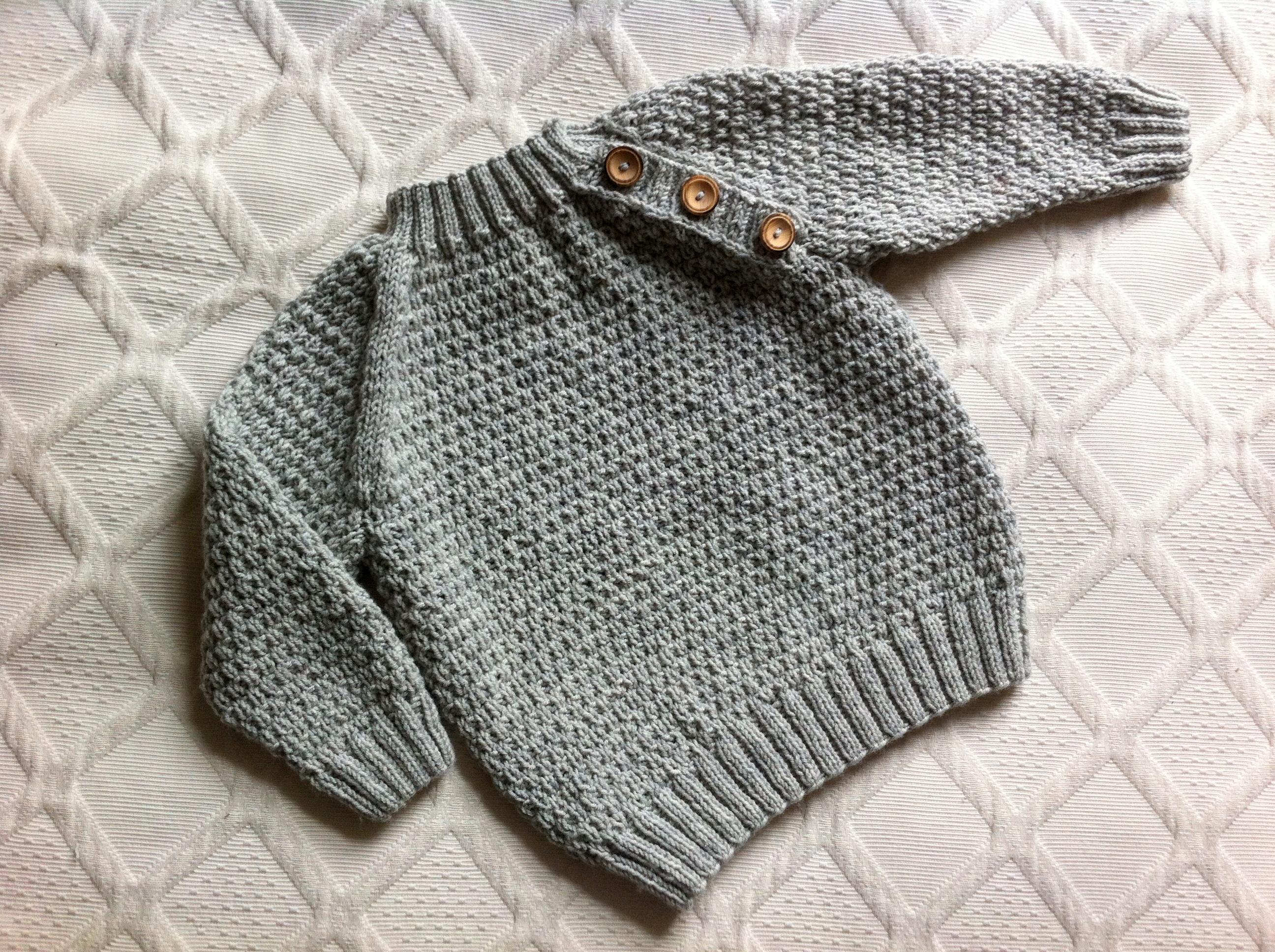 babytæppe strikkeopskrift